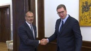 Vučić Fabriciju: EU glavni spoljnotrgovinski partner Srbije