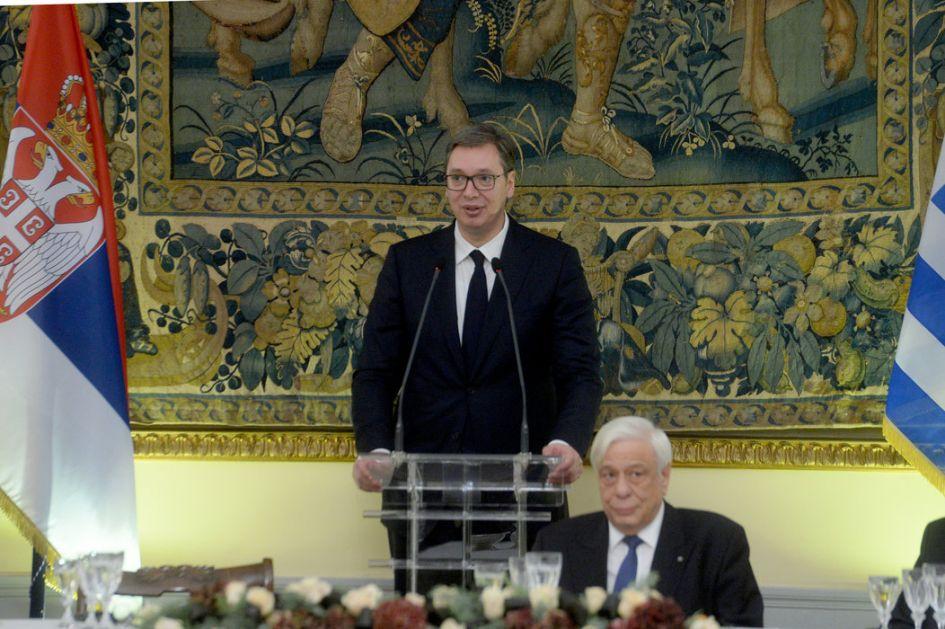 Vučić: Handke je velikan i Srbije, a Severna Makedonija neka radi svoj posao; Grci i mi pravi prijatelji