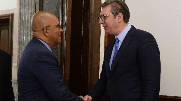 Vučić: Hvala Grenadi na podršci suverenitetu Srbije