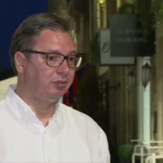 Vučić: Hvala policajcima i Stefanoviću koji prolazi kroz porodičnu tragediju, a rešava probleme sa TAJKUNIMA