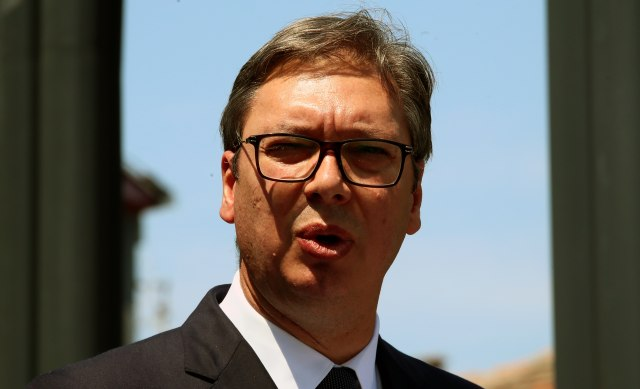Vučić: Išao sam da izjavim saučešće jer to nije uradio Babić