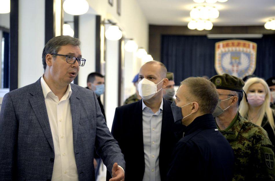 Vučić: Jedna velika sila traži povlačenje Kfora i Unmika, to bi bila katastrofa