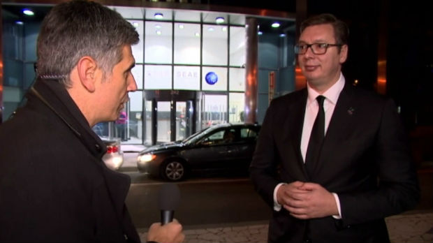 Vučić za RTS: Kosovska vojska na severu – to se neće dogoditi