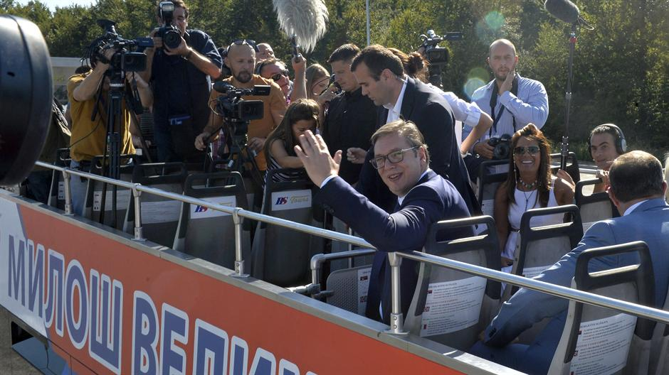 Vučić: Mi smo na ovaj put čekali 74 GODINE! (FOTO)