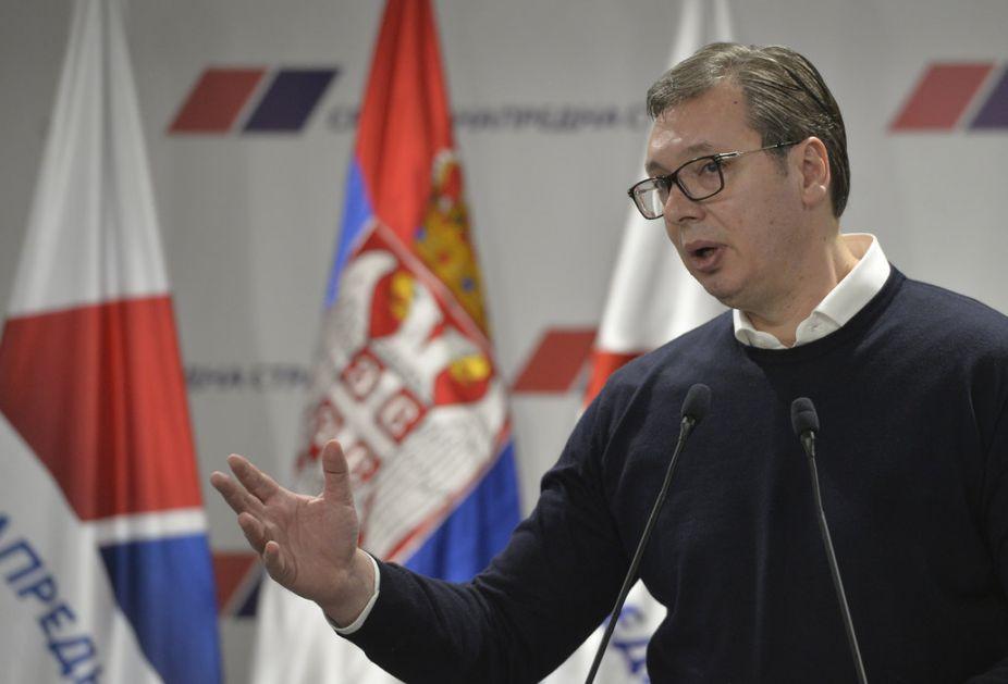 Vučić: Ne bih zamerio vladiki Teodosiju, Haradinaj ima pet privatnih Srba u Gračanici...