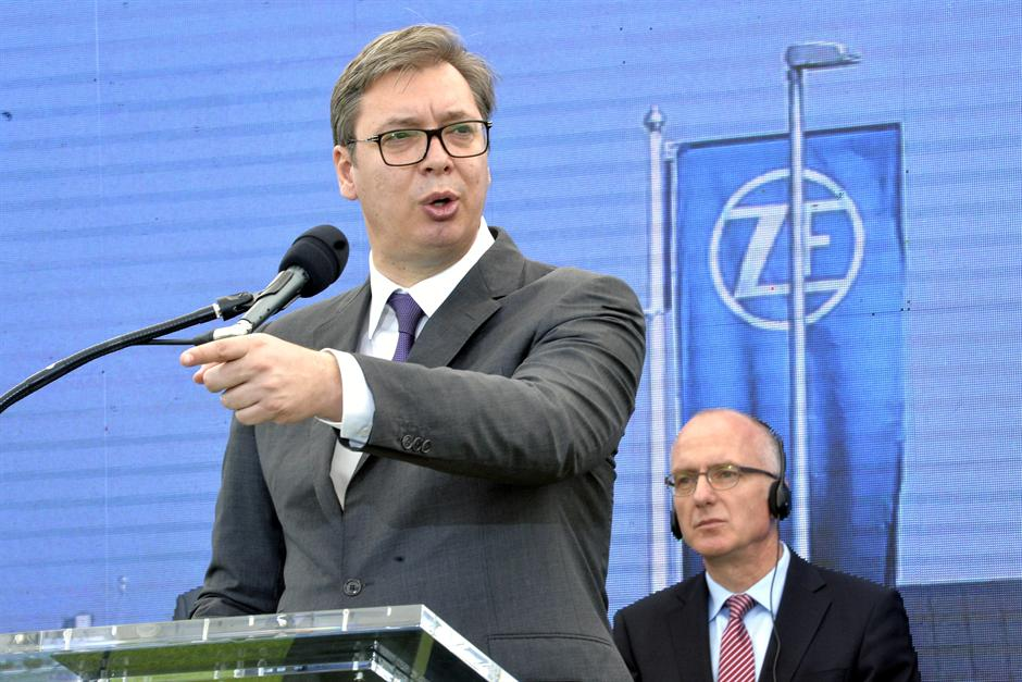 Vučić: Ni Merkel nije verovala da ZF dovodimo u Pančevo
