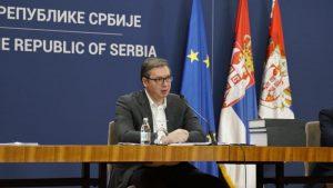 Vučić: Nisam video non pejper, zalažem se za postojeće granice