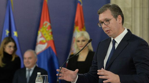 Vučić: Novinarsko pitanje nije uticalo na moje zdravlje