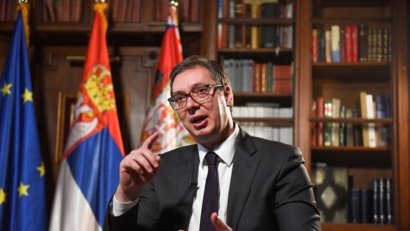 """Vučić: Odgovor Srbije na želje da prizna Kosovo biće """"strpljivost i trpeljivost"""""""