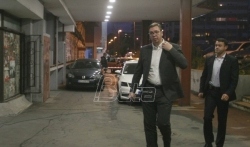 Vučić: Odnos sa koalicionim partnerima jedna od tema Predsedništva SNS, ali ne najvažnija. ...