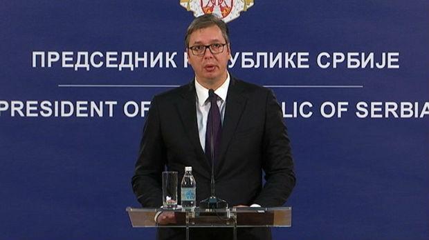 Vučić: Nećemo tolerisati nasilje nad Srbima na Kosmetu