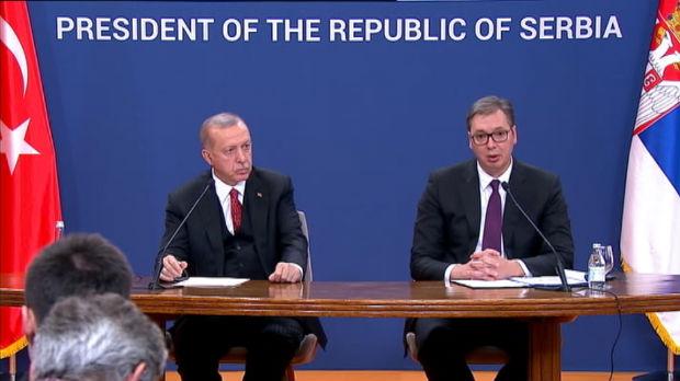 Vučić sa Erdoganom: Politički odnosi sa Turskom možda i najbolji u modernoj istoriji