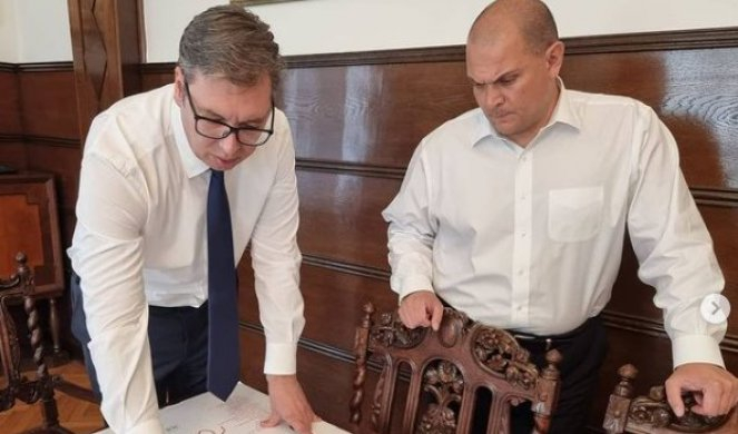 Vučić: Pravimo brzu prugu do Preševa