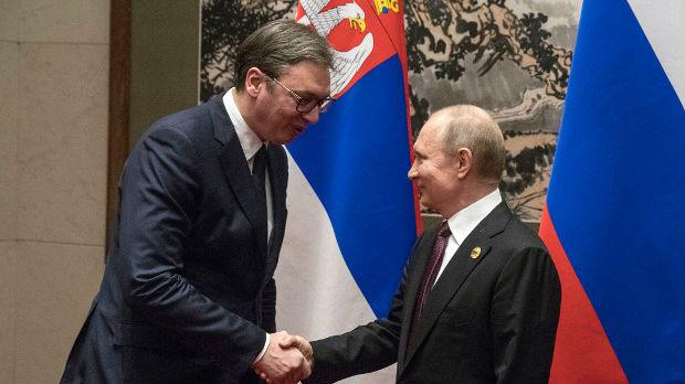 Vučić Putinu: Dan Rusije više od praznika