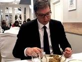 Vučić: Ručak uz kratku analizu prepodnevnog rada i poslepodnevnih obaveza FOTO