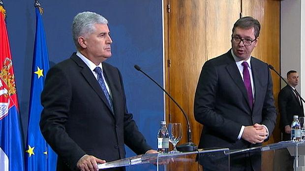 Vučić: Dogovoreno da stav BiH o Kosmetu bude isti kao stav Beograda