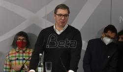Vučić: Sednica Saveta za nacionalnu bezbednost odložena zbog veštačenja dokaza o ...
