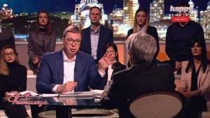 Vučić: Spot SNS govori o prirodi opozicionih lidera