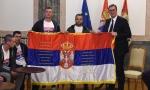 Vučić Srbima koji su pešačili sa KiM: Hvala vam, ne zbog mene već zbog ljubavi prema otadžbini