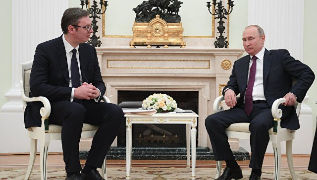 Vučić: Tražiću podršku od predsednika Putina na svim međunarodnim forumima