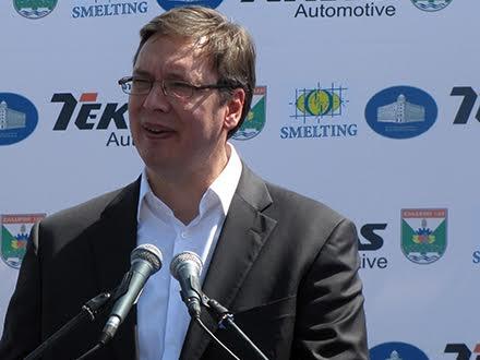 Vučić: U Geoxu radilo 85 bračnih parova, ni su prvi na redu da im nađemo posao