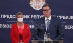 Vučić: U Srbiji trenutno 3.977 migranata, prošle godine sprečili više od 38. ...