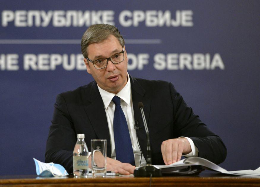 Vučić: U Srbiju stiglo još 10.000 vakcina; Svet je danas kao Titanik (VIDEO)