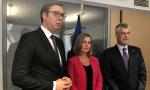 Vučić: Uvek za dijalog, sa Tačijem razmenio nekoliko kurtoaznih rečenica