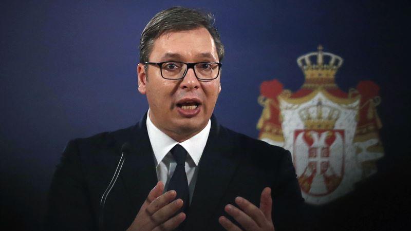Vučić: Vojska Kosova formirana na ilegalan način