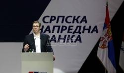 Vučić: Za SNS je svaki rezultat na izborima ispod 48,2 odsto nedovoljno dobar. ...