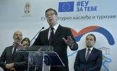 Vučić: Za projekte na istoku Srbije 16,5 miliona evra