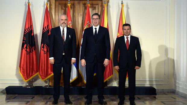 Vučić, Zaev i Rama razgovarali o malom Šengenu
