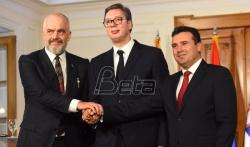 Vučić, Zaev i Rama potpisali dokument o malom Šengenu