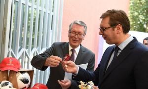 Vučić: Želim reprezentaciji uspeh, večeras bih navijao za Rusiju