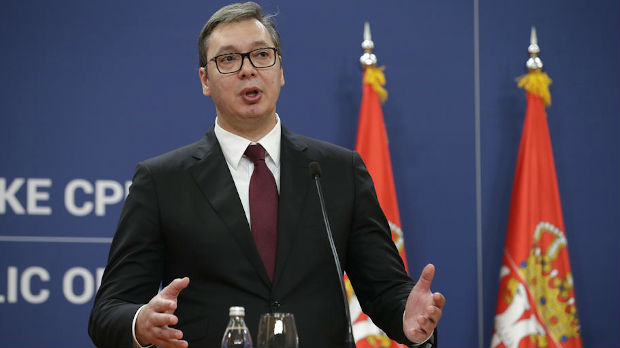 Vučić čestitao Džonsonu pobedu na izborima