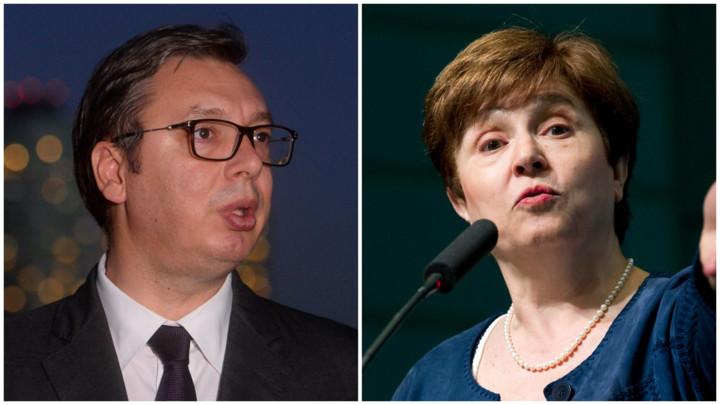 Vučić čestitaoKristalini Georgijevoj izbor za direktorku MMF-a
