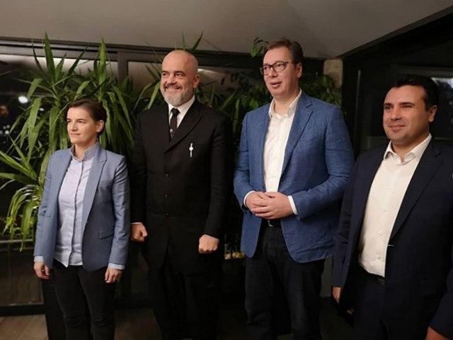 Vučić danas sa Ramom i Zaevim u Novom Sadu
