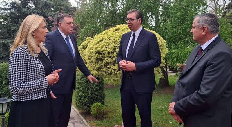 Vučić na sastanku sa rukovodstvom Republike Srpske