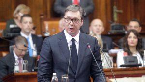 Vučić danas u Skupštini o pregovorima sa Prištinom