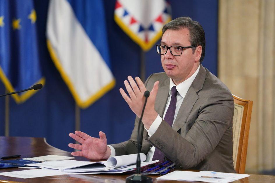 Skupština usvojila izveštaje predsednika o Kosovu i Metohiji; Vučić: Nije nam potreban zamrznut konflikt