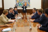 Vučić i Berger: Očekujemo podršku Nemačke FOTO
