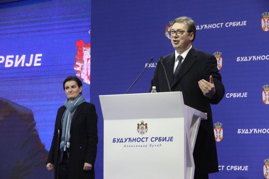 Vučić i Brnabić predstavili program Srbija 2025, vredan oko 14 milijardi evra