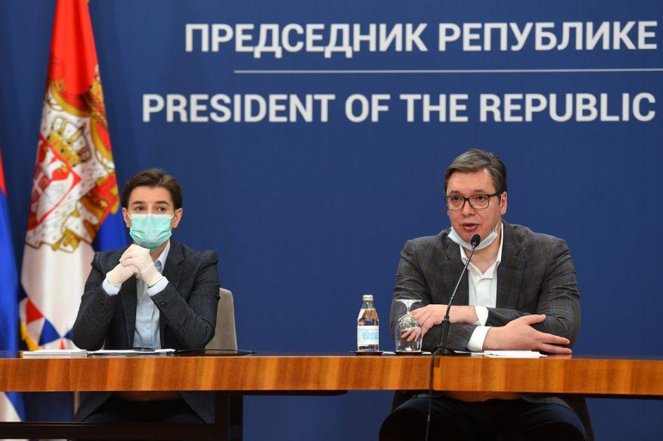 Vučić: Nećemo još da zatvaramo gradove, bolnice nam sve punije, uskoro još nekoliko stotina respiratora