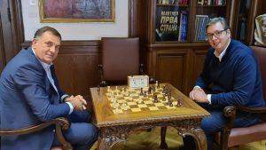 Vučić i Dodik razgovarali o izgradnji aerodroma u Trebinju