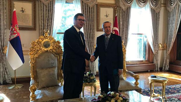 Vučić i Erdogan za dodatno jačanje odnosa dve zemlje