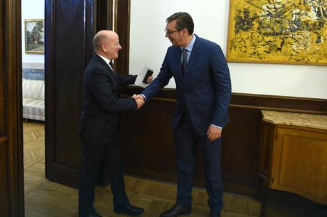 Vučić i Helbah: Odnosi Nemačke i Srbije na najvišem nivou u novijoj istoriji