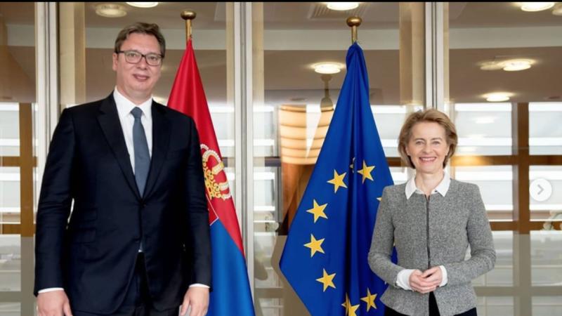 Vučić i Hoti u Briselu 12. jula
