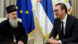 Vučić i Irinej: 'Više rada i više jedinstva će uvek davati značajno veće rezultate'