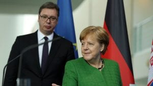 Vučić i Merkel sutra u Parizu