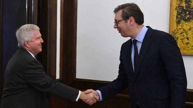 Vučić i Skot: Podrška SAD pronalaženju primenjivog i trajnog rešenja za KiM